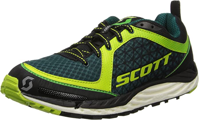 Scott Zapatilla de Running T2 Kinabalu Green/Black Hombre 44,5: Amazon.es: Zapatos y complementos