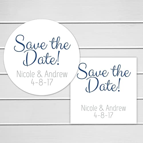 amazon com save the date stickers save the date envelope seals
