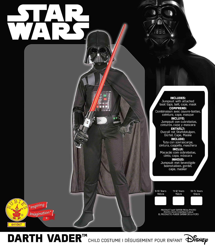 Multicolore 11-12 anni 641067 1112 Rubies- Star Wars Costume Ragazzi