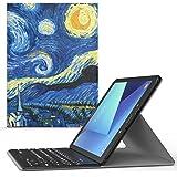 MoKo Samsung Galaxy Tab S3 9.7 Keyboard Funda - Wireless Bluetooth Teclado Funda QWERTY para Samsung Galaxy Tab S3 9.7 pulgada Android 7.0 2017 Version Tablet ( SM-T820 / SM-T825 ), Índigo