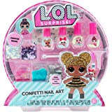 L.O.L. Surprise Confetti Nail Art by Horizon Group USA,Make Custom DIY Nail Polishe.Add tattoos, Glitter, Gemstones…