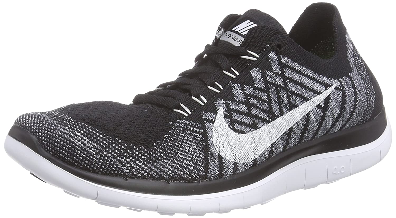 superior quality 1847f 60231 NIKE Free 4.0 Flyknit Women's Running SHOES-717076-001-SIZE ...