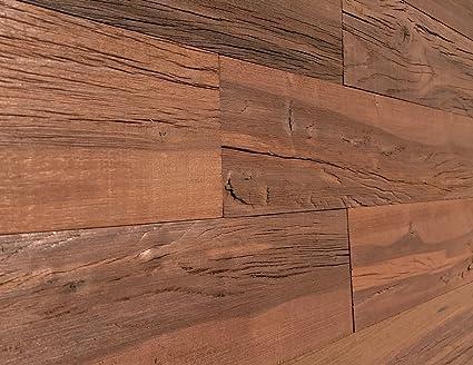 Amazon Smart Paneling 3d Holey Wood Design 6 Reclaimed Wood