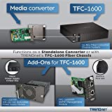 TRENDnet Intelligent 1000Base-T to 1000Base-LX Dual