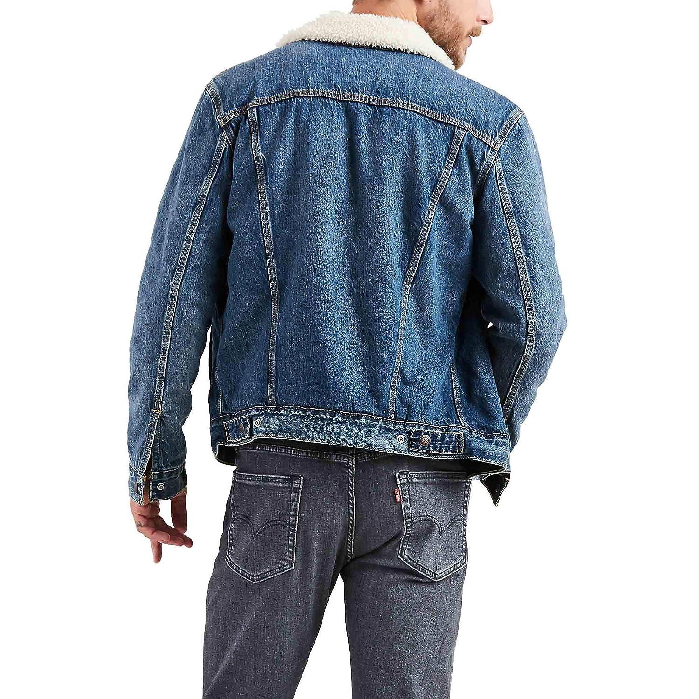 Levis Mens Cotton Sherpa Trucker Jacket