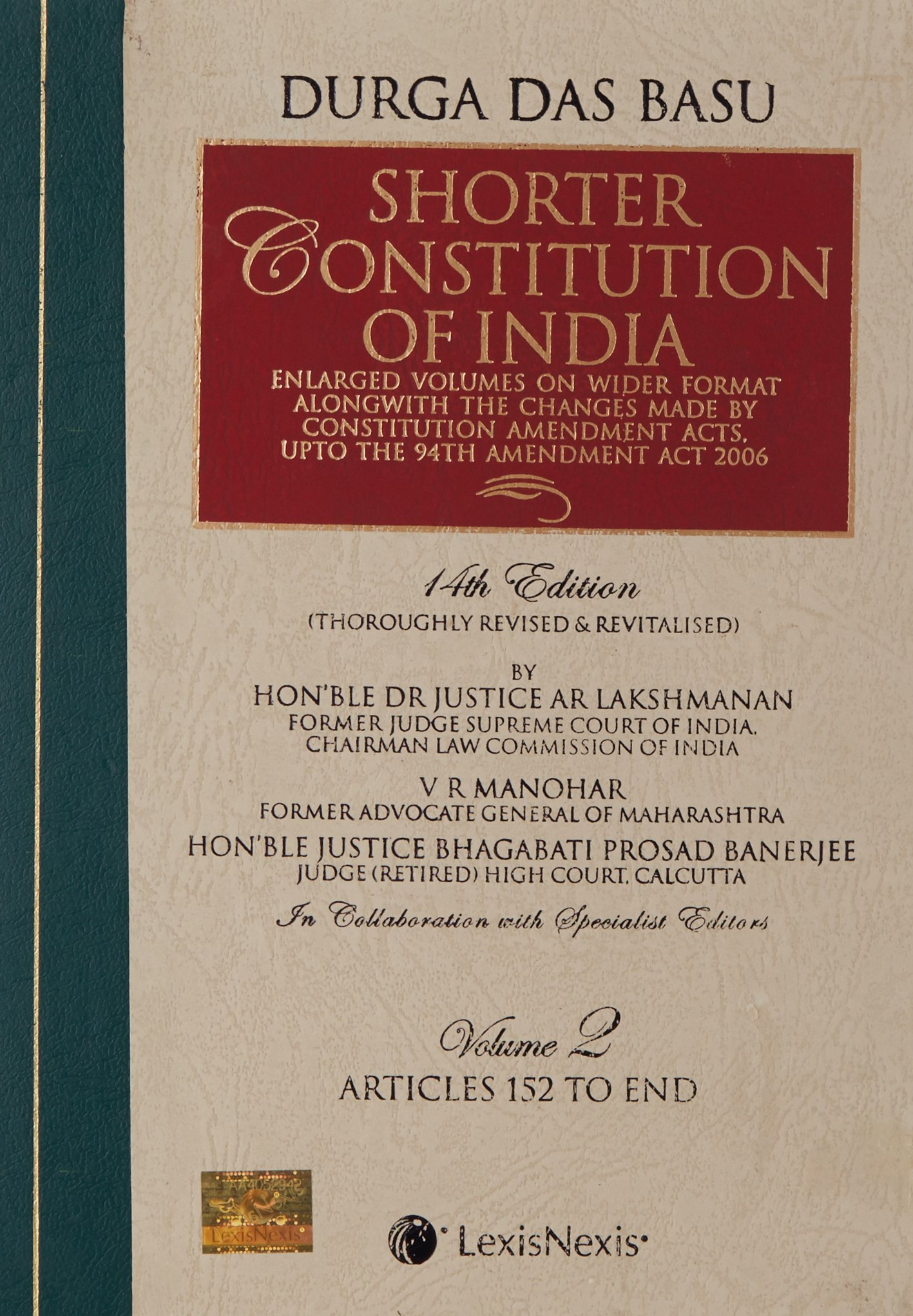 The Constitution Of India Pdf