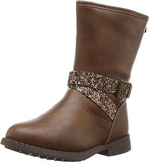 BININBOX Kids Warm Cotton Snow Boots Waterproof Winter Boots for Girls Boys