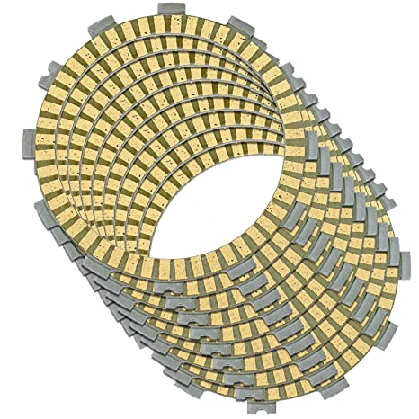 Amazon.com: Caltric CLUTCH FRICTION PLATE Fits KAWASAKI ZR750 Z750 2004 2005 2006 2007 9 FRICTION PLATES: Automotive