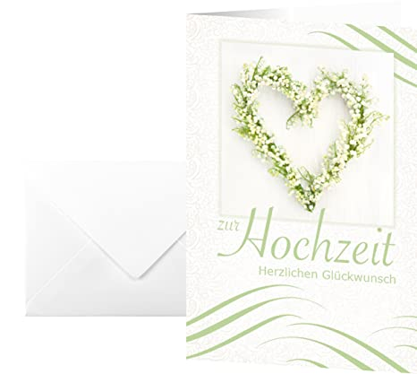 Amazon sigel wedding greetings card hochzeit office products sigel wedding greetings card hochzeit m4hsunfo