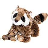 """Patch Raccoon 7"""" by Douglas Cuddle Toys"""