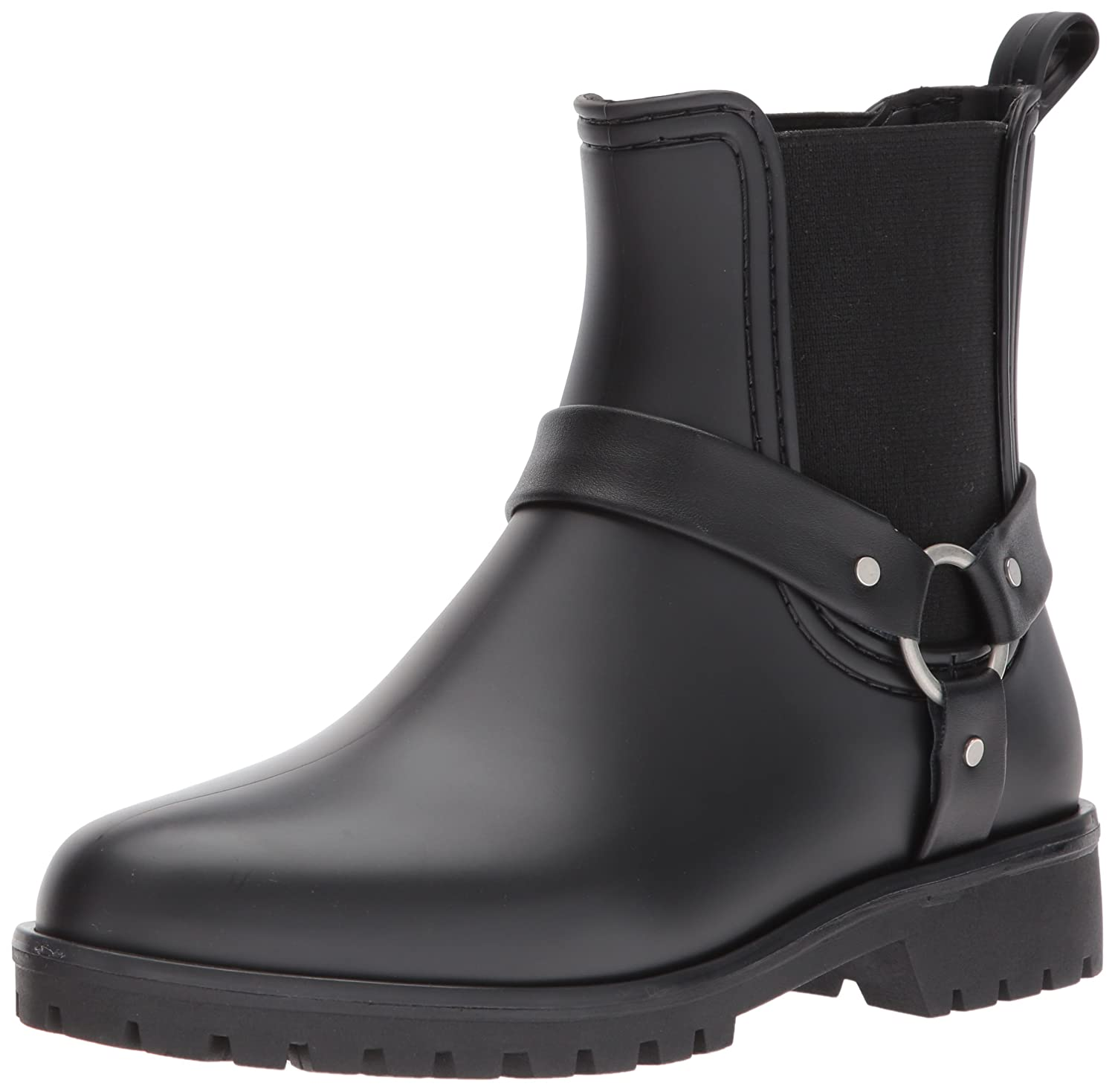 Bernardo Women's Zoe Rain Boot B06XYX93FJ 7 B(M) US|Black Rubber