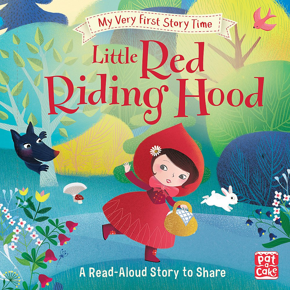Little Red Riding Hood: Fairy Tale with picture glossary and an activity  (My Very First Story Time): Amazon.co.uk: Pat-a-Cake, Elliot, Rachel,  Rohrbach, Sophie: 9781526380258: Books