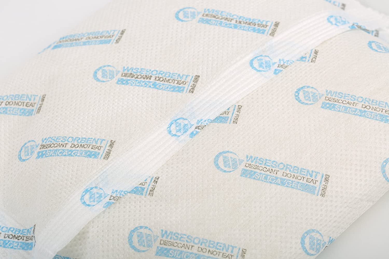 Wisesorbent Verna Non-Woven Packed White Silica Gel Desiccant 10G,30PCS