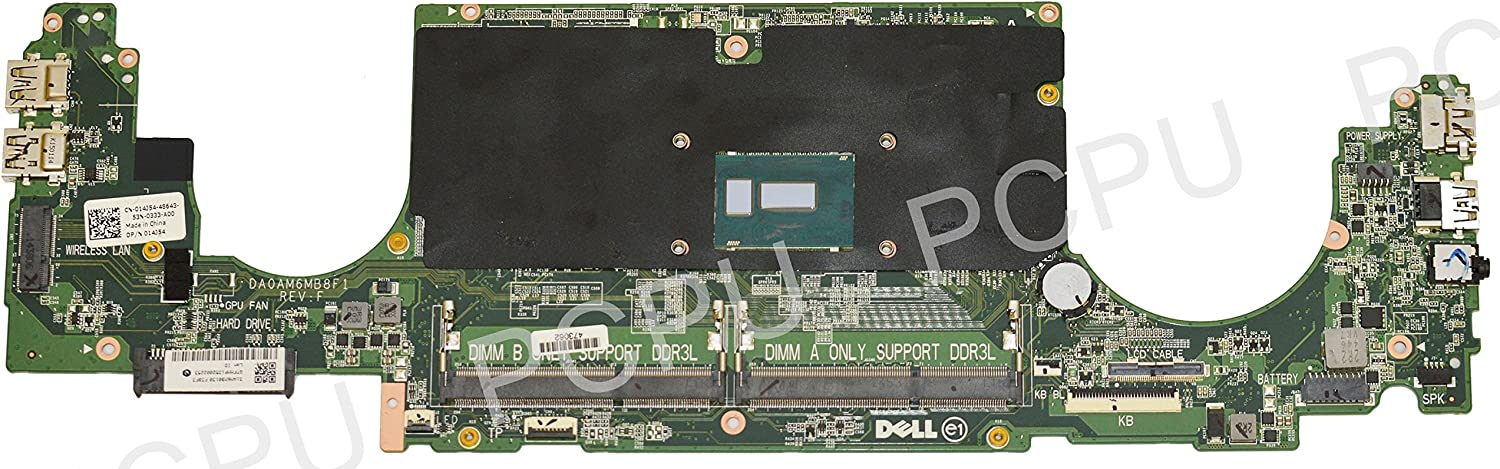 14J54 Dell Inspiron 7548 Laptop Motherboard w/Intel i7-5500U 2.4GHz CPU