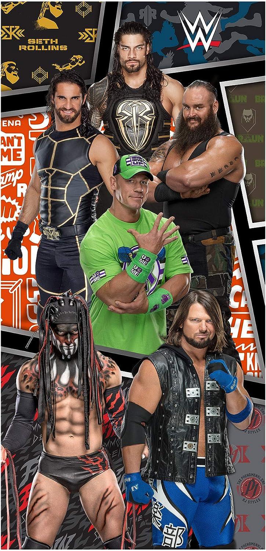 Cotton Multi-Colour 28 x 25 x 3 cm WWE John Cena Hooded Poncho