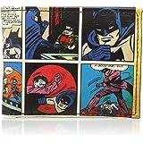 Meroncourt Coin Pouch Dc Comics Batman Classic Comic Story Bifold Wallet  Multicolour (Multicolour) BIO-MW144976BTM