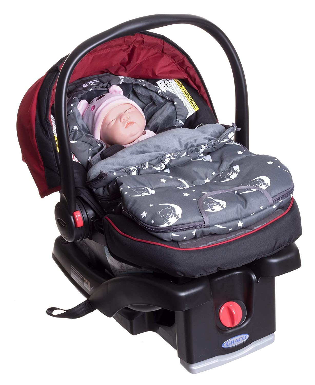 Infant Baby Newborn Footmuff Bunting Bag Sleep Sack for Carriers, Strollers, Joggers and Buggies