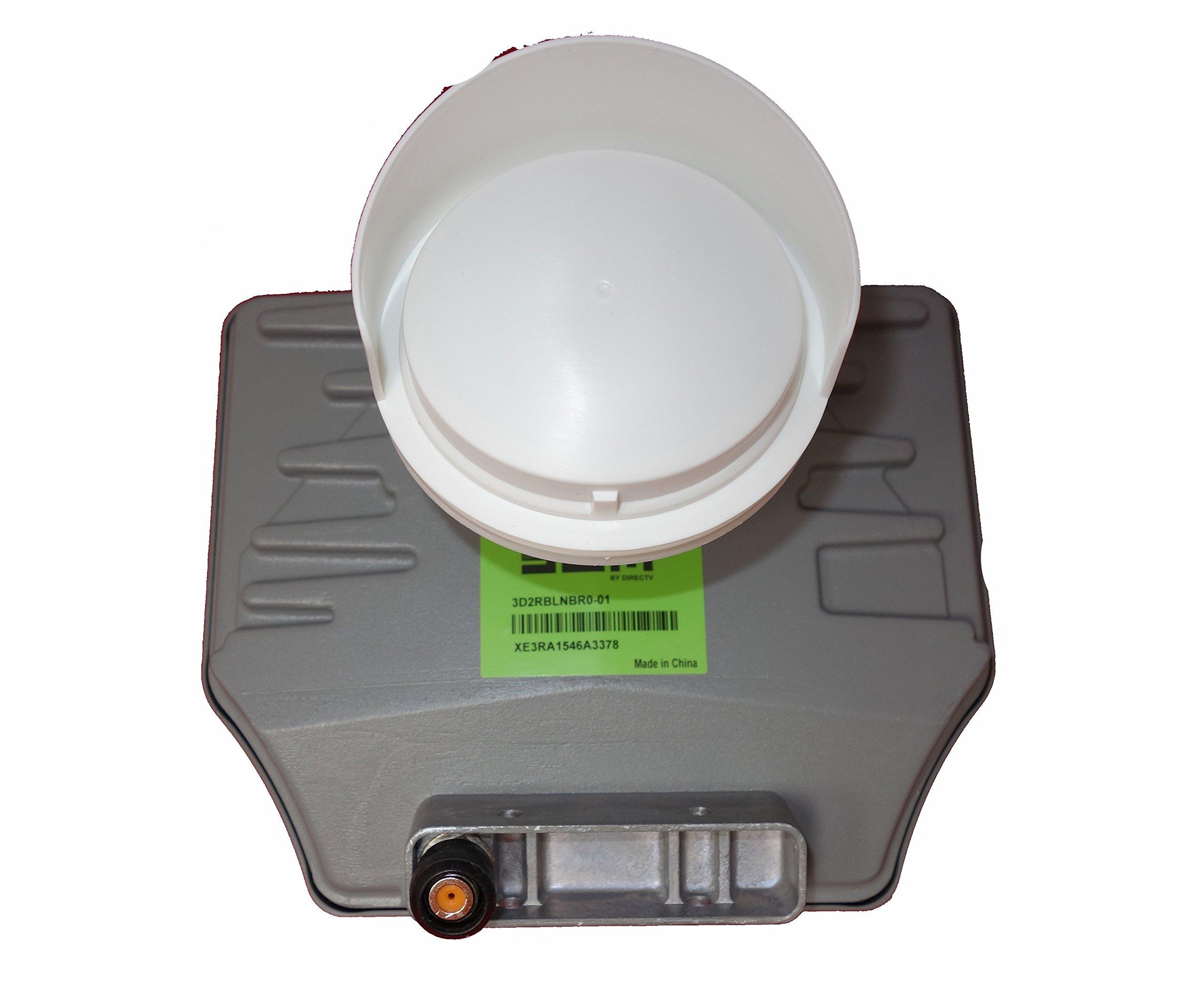 DIRECTV SWM13 3D2RBLNB UltraHD LNB for SlimLine Dish by DIRECTV