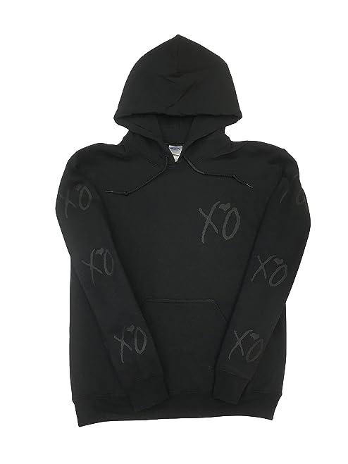 XO Hoodie The Weeknd (Black Print)