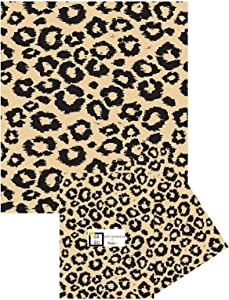 Animal Print Tissue Paper for Gift Bags - 24 Decorative Sheets 20 Inches X 30 Inches (Leopard Safari)