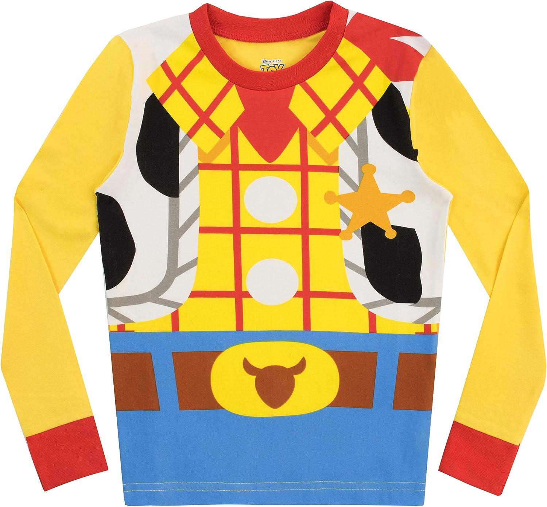 Disney Pigiama per Ragazzi 2 Pacchi Vestibilitta Stretta Toy Story
