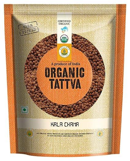 Organic Tattva Kala Chana, 500g