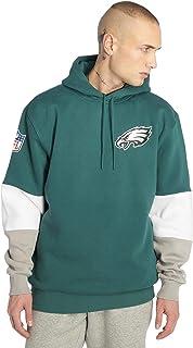 New Era Uomo Felpe con Cappuccio NFL Colour Block Philadelphia Eagles