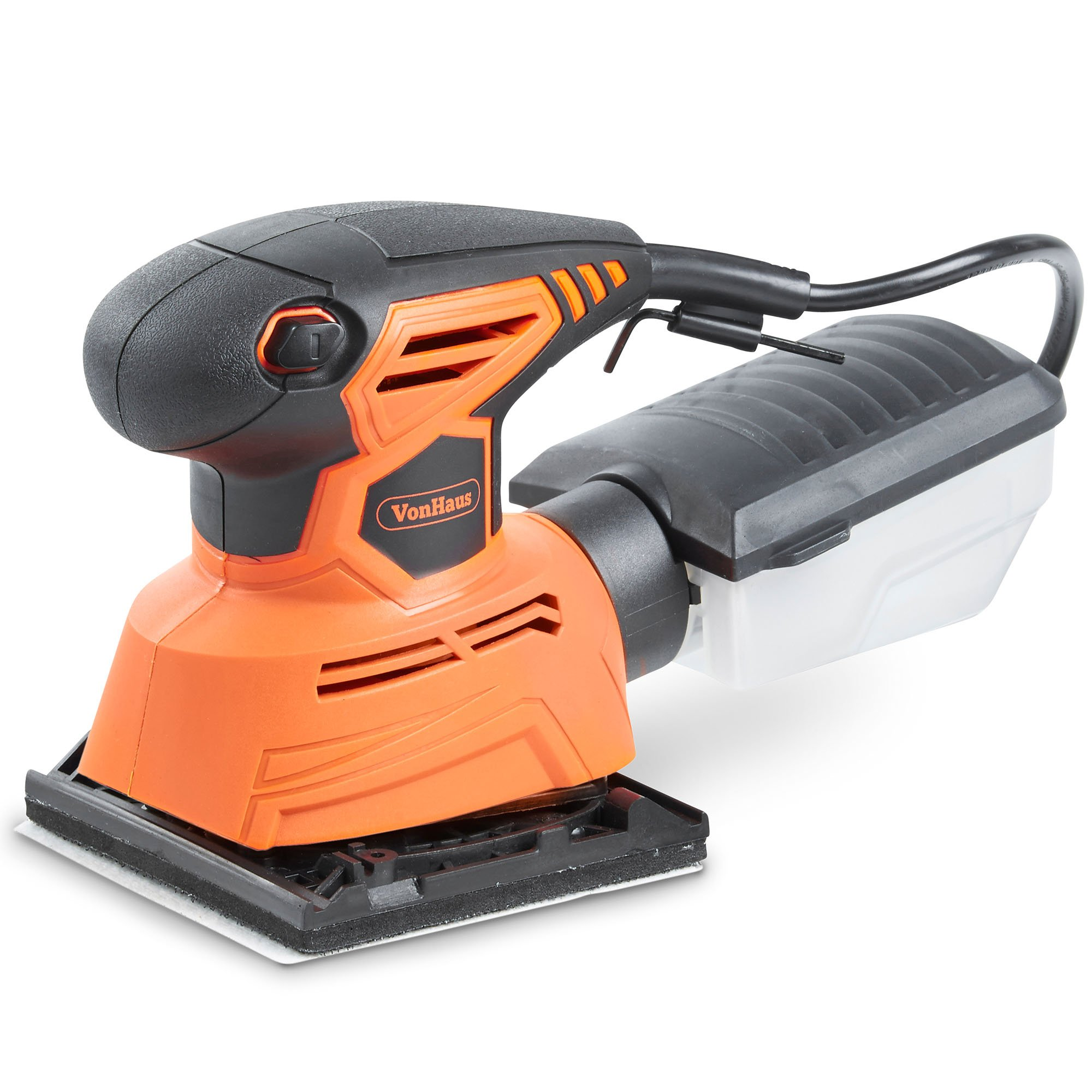 VonHaus 1.1A 2 in 1 Sheet & Detail Sander - 14000 RPM with 6 Sanding Sheets Included - Multi-Use, Compact Lightweight Design with Dust Extraction System and 6ft Power Cord by VonHaus (Image #8)