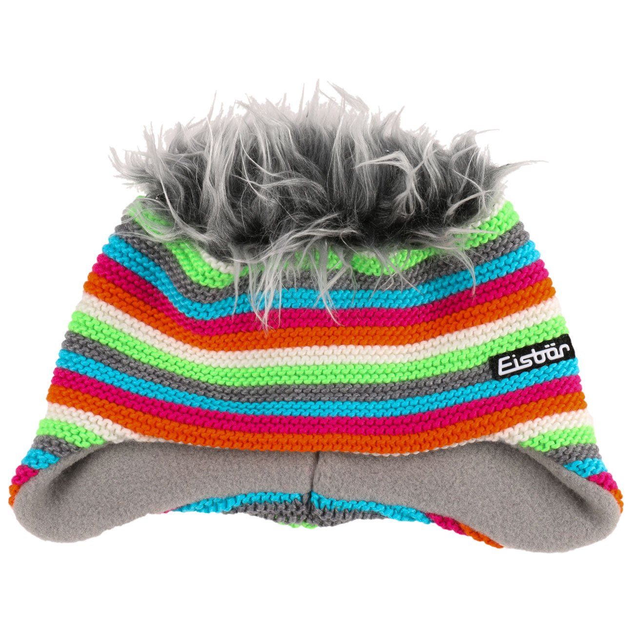 dadf5cf0e7d Eisbär Funky Cocker Knit Hat wool beanie knit beanie (One Size - white)   Amazon.co.uk  Clothing