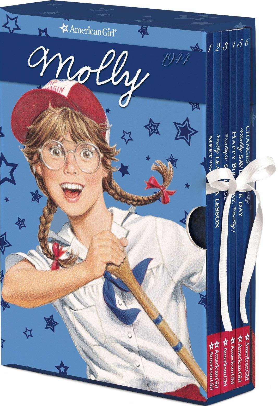 Molly Boxed Set with Game (American Girl) (American Girl Collection)