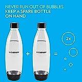 SodaStream 1741220010 Black 1L Slim Carbonating