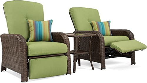 La-Z-Boy Outdoor SAW-3PC-G Sawyer Patio Recliner Set