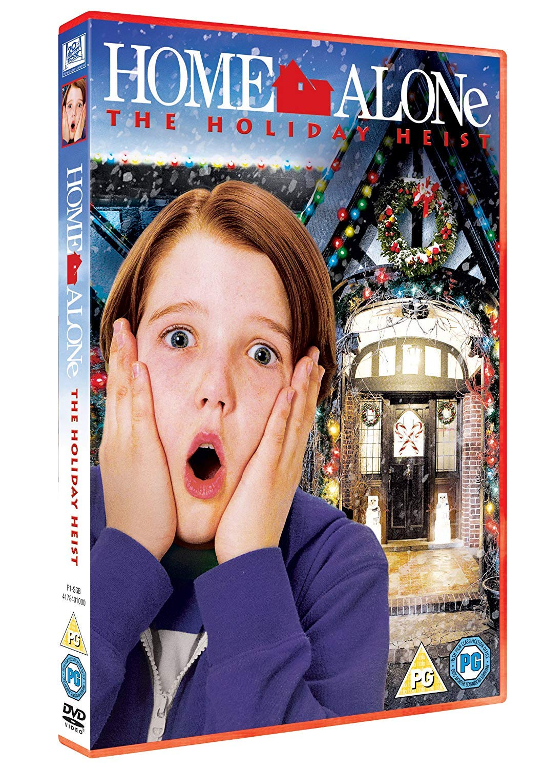 Home Alone - The Holiday Heist [DVD]: Amazon co uk