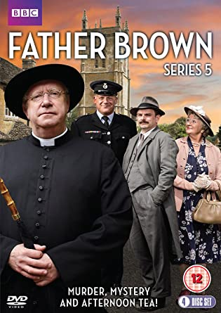 Father Brown Series 5 Dvd Amazon Co Uk Mark Williams Dvd Blu Ray