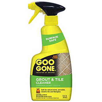 Amazoncom Goo Gone Grout And Tile Cleaner Ounce Best Grout - Best product to clean ceramic tile
