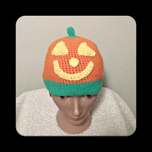 Halloween Beanie Hat Crochet