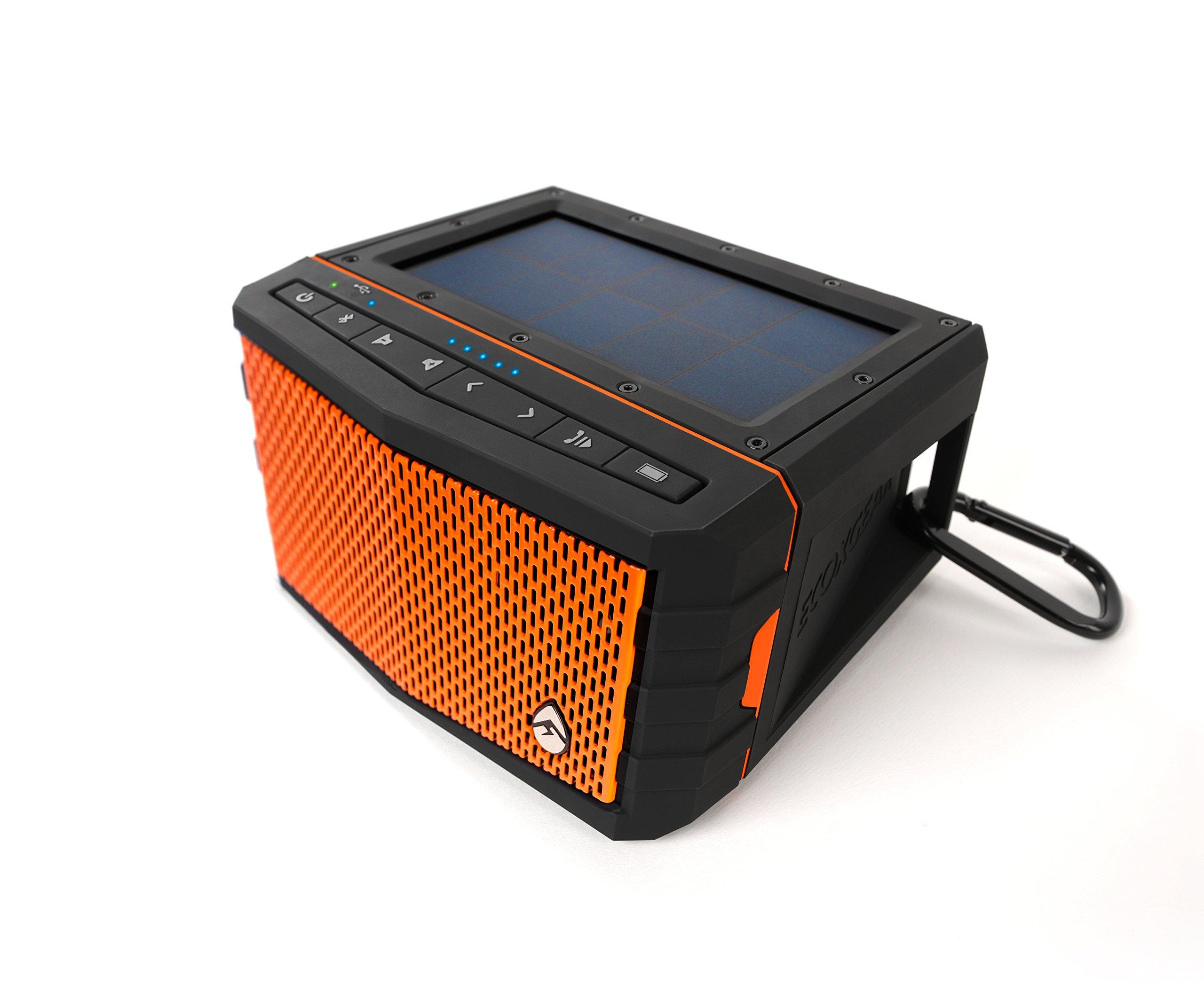 Ecoxgear Sol Jam Solar-powered Waterproof Speaker (orange) by ECOXGEAR (Image #4)
