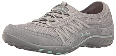 Skechers Damen Breathe Easy Point Taken Sneaker  35.5 EUGrau (Grey)