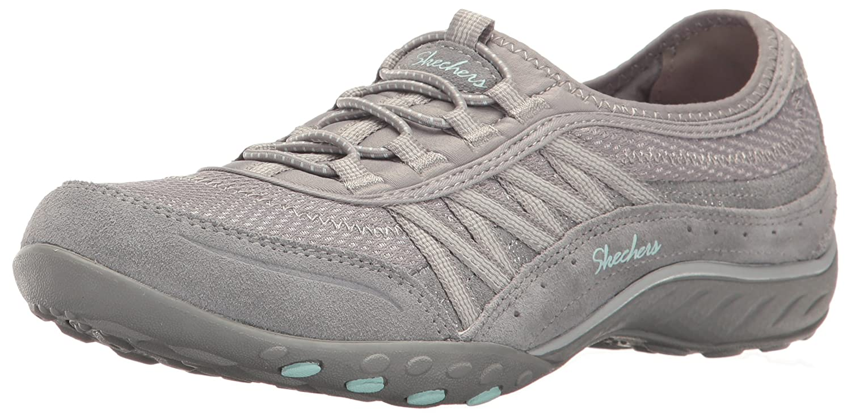 Skechers Damen Breathe Easy-Point Taken Sneaker  37.5 EU|Grau (Grey)
