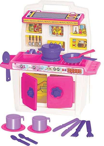 Buy Toyzone Disney Princess Little Kitchen Set Pink Online At Low