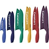 Cuisinart 12 Piece Color Knife Set with Blade Guards (6 knives and 6 knife covers), Jewel - Amazon Exclusive