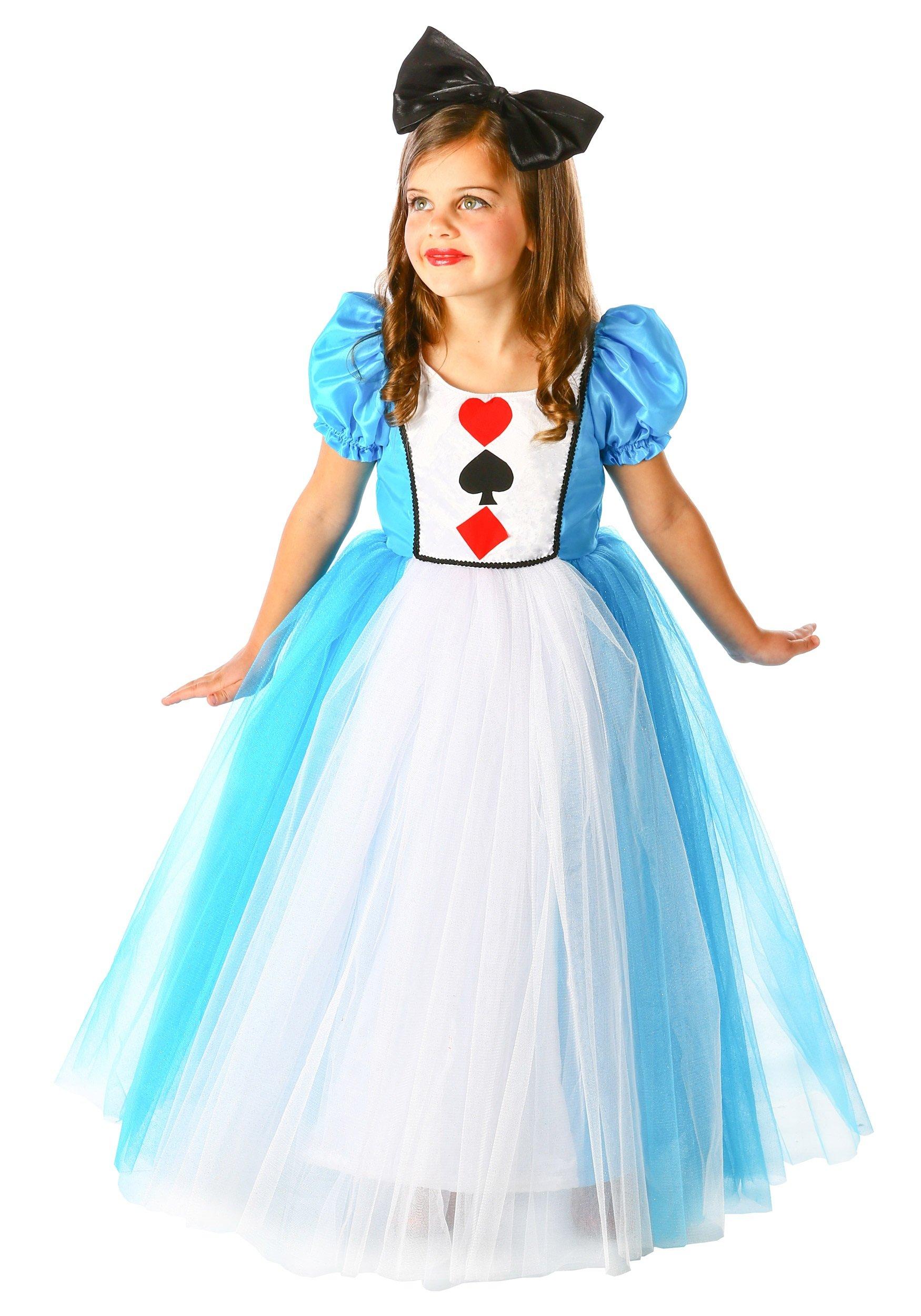 Princess Alice in Wonderland Costume, Small (5-6) by Princess Paradise
