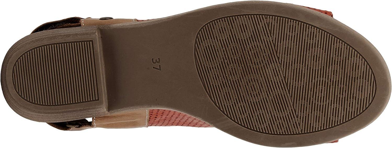 Spring Step Rapture Slingback Damen-Sandale Rot