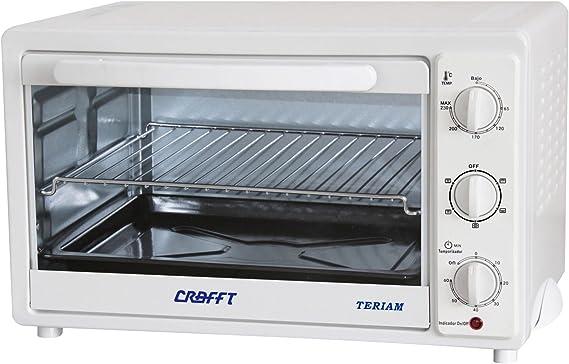 Crafft CMHVENT30L Mini horno 30 L con ventilador: Amazon.es: Hogar