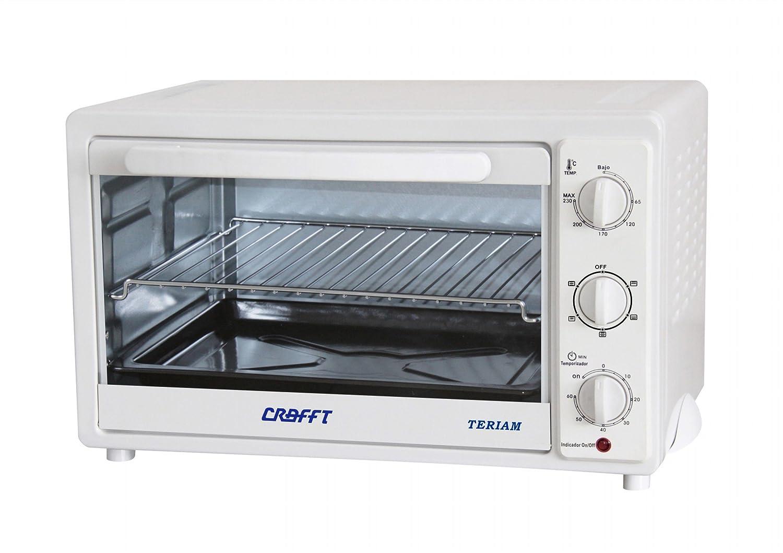 Crafft CMHVENTL Mini horno L con ventilador