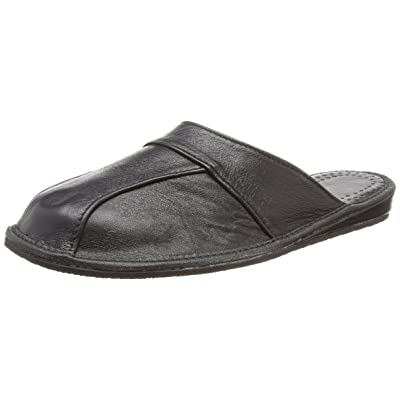 Mens House Slippers | Finest Calfskin Leather | 28 | Slippers