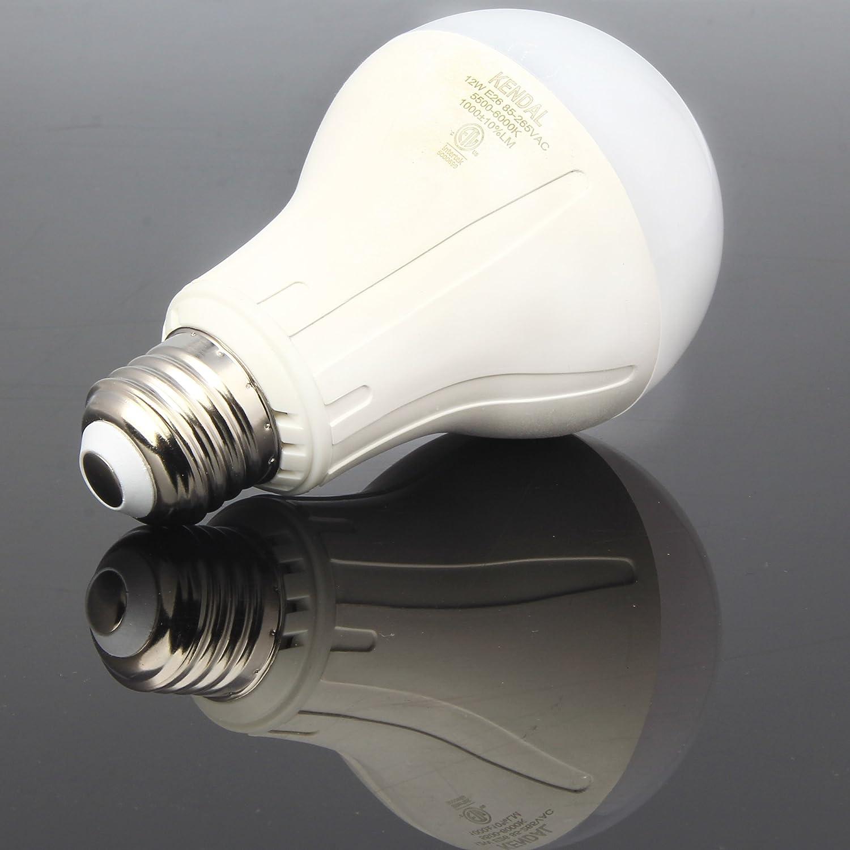 Bulbrite Dimmable 9 Watt 2700K A19 LED Bulb 4PK JA8 Compliant Renewed