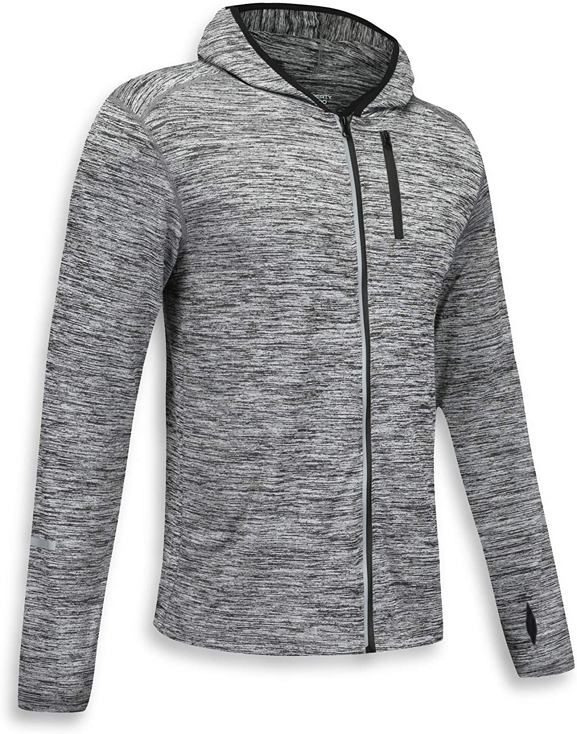 3 Pack Men's Long Sleeve Active Zipper Shirts Quick Dry Pullovers, Athletic Running Cycling Gym Tops Bulk Bundle