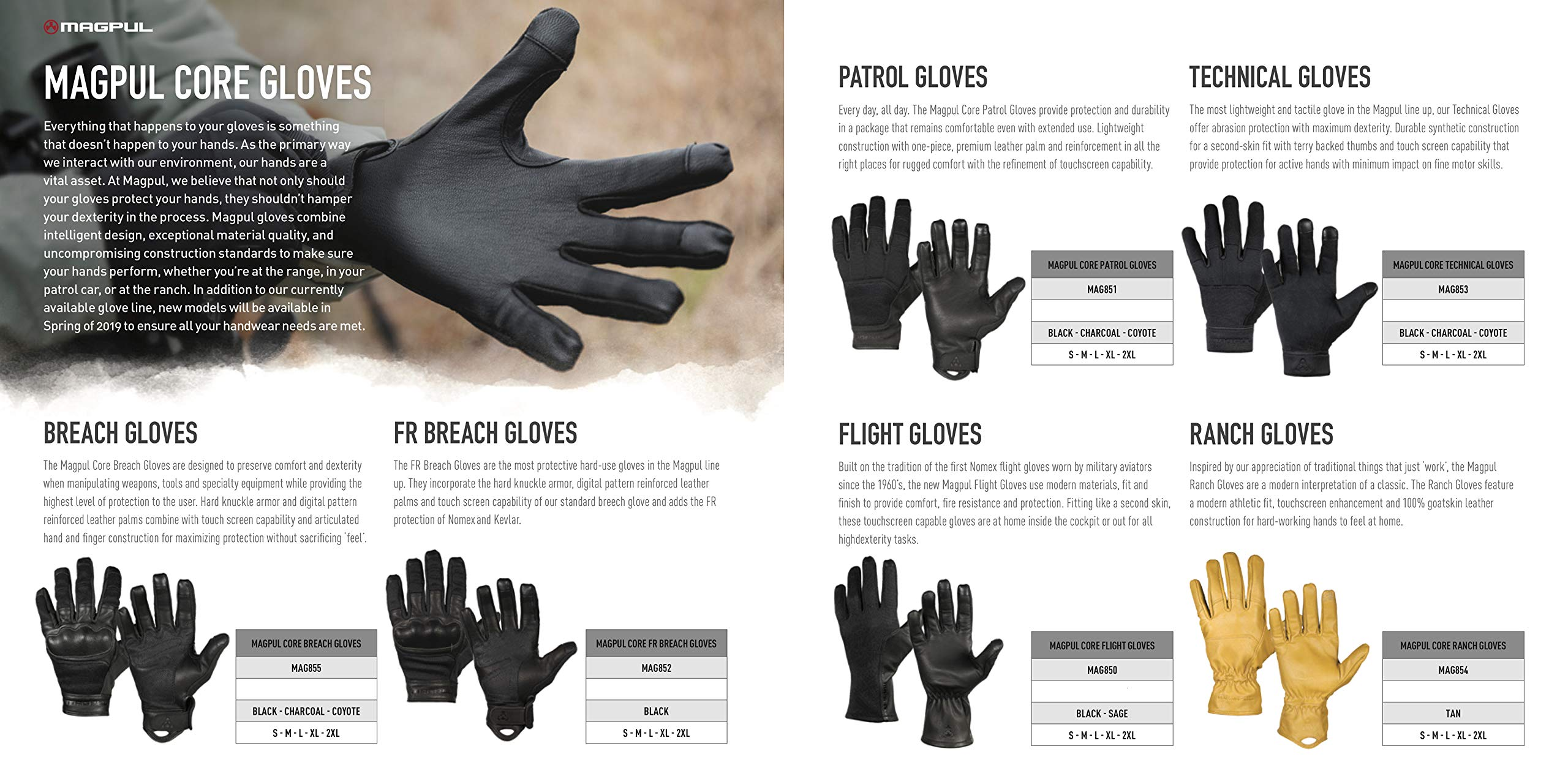 Magpul Core Flight Modern Nomex Gloves X-Large, Sage, X-Large by Magpul (Image #4)