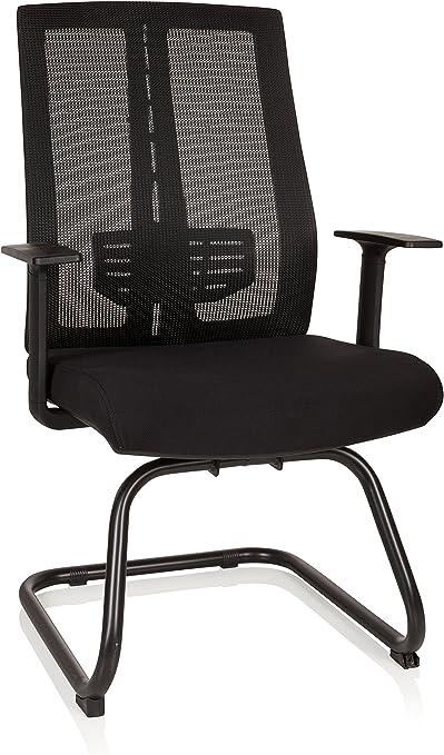 hjh OFFICE 719850 chaise visiteur, chaise de conférence à